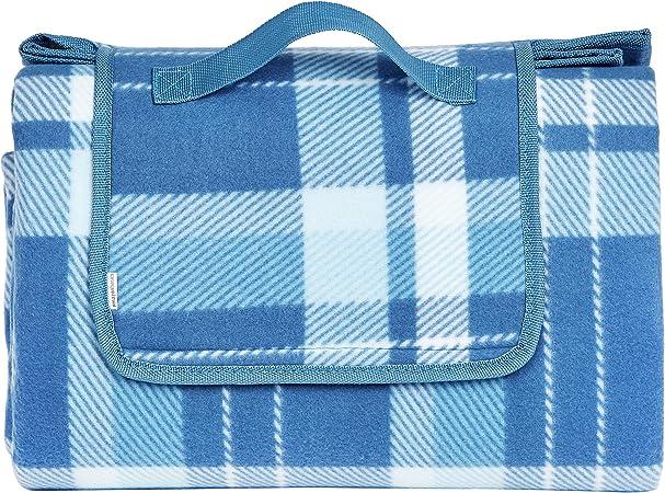 Amazon Basics - Manta para pícnic con base impermeable, 175 x 200 cm