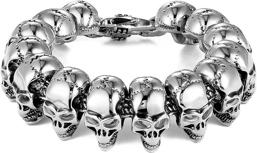 pulseras CAD-21 Cadena cuentas cristal Rosario 6mm ROSA MUY CLARO collar