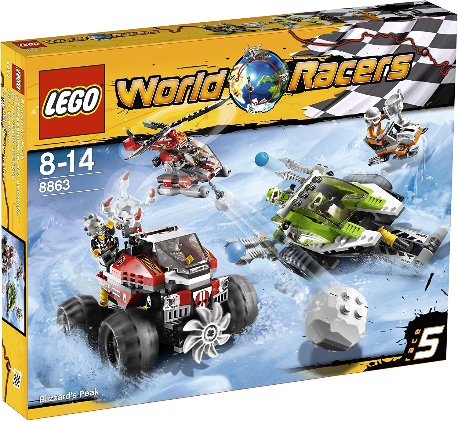 LEGO Racer Very popular ice Import Japan Race At the price of surprise