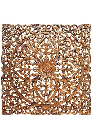 Orientalische Holz Ornament Wanddeko Rajab 120cm Gross XXL | Orientalisches  Wandbild Wanpannel In Braun Als Wanddekoration