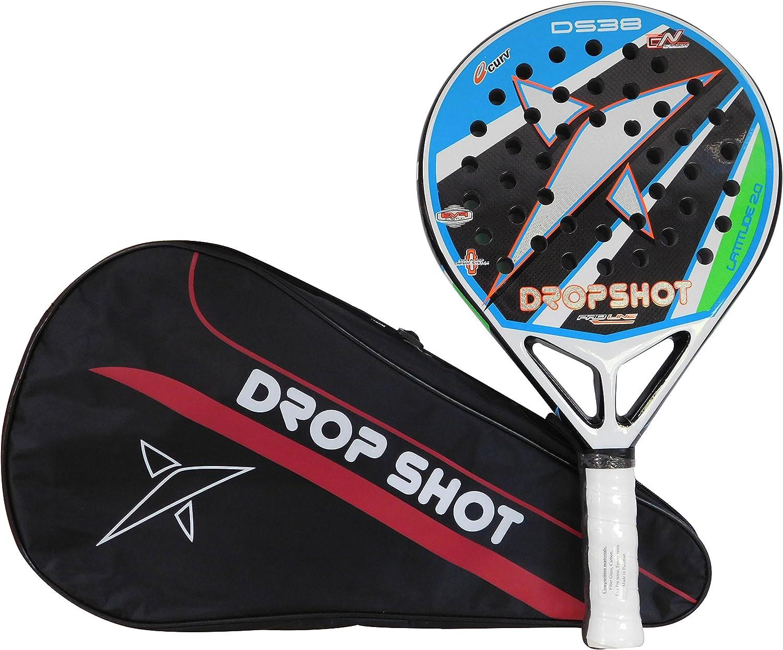 DROP SHOT Unisexs Latitude 2.0 Padel Racket Multicolored One Size