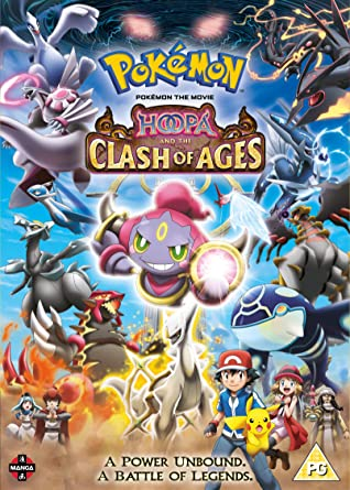 Amazon Com Pokemon The Movie Hoopa And The Clash Of Ages Dvd
