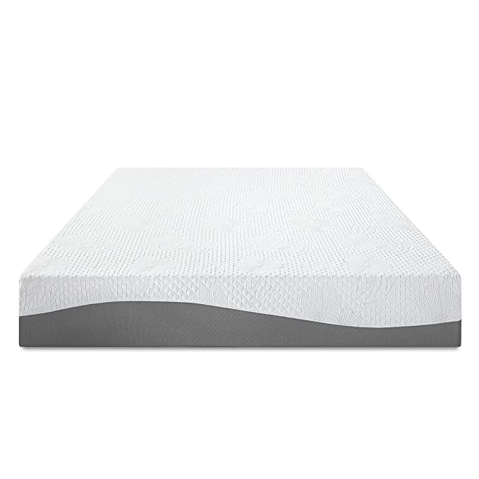 Amazon.com: Olee Sleep 10 in I Gel Layer Top Memory Foam Mattress (Twin): Kitchen & Dining