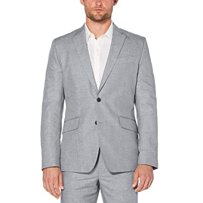 Cubavera Men's Cotton-Linen Herringbone-Textured Blazer: Clothing