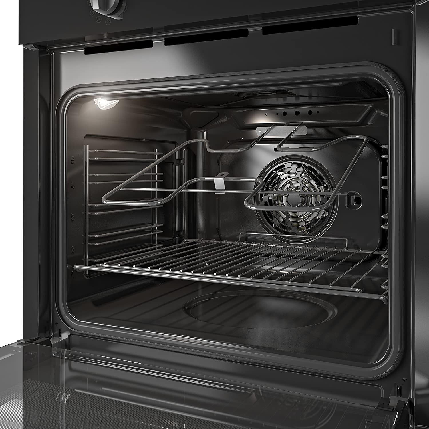 Indesit IFW6330BL Four Function Electric Built-in Single Oven Black [Energy Class A]