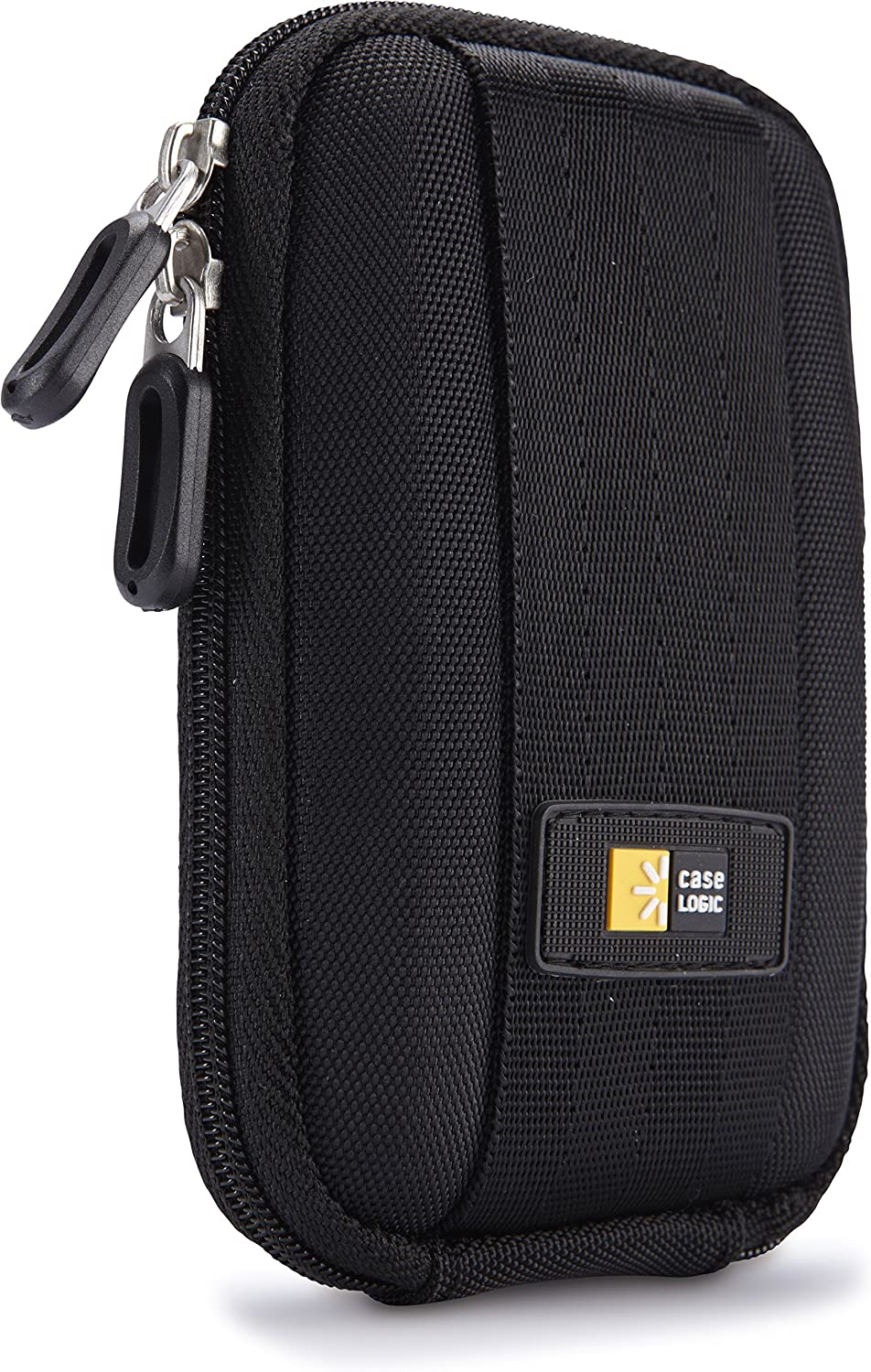 Case Logic Black 30 Cassette Tape Suitcase Holder with Extra Outside Zipper Strap