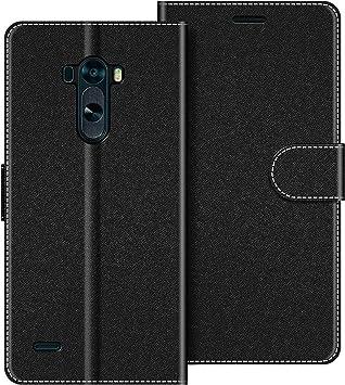 COODIO Funda LG G3 con Tapa, Funda Movil LG G3, Funda Libro LG G3 ...