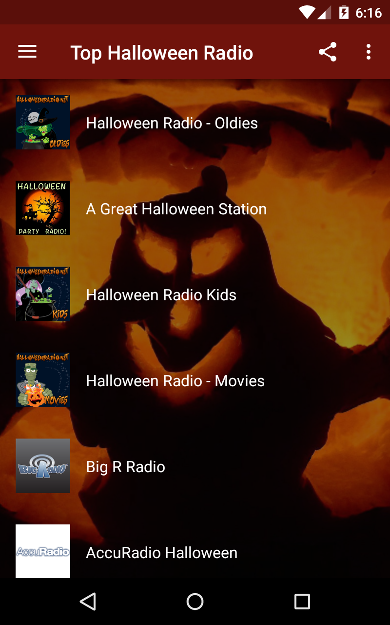 Amazon.com: Top Halloween Radio: Appstore for Android