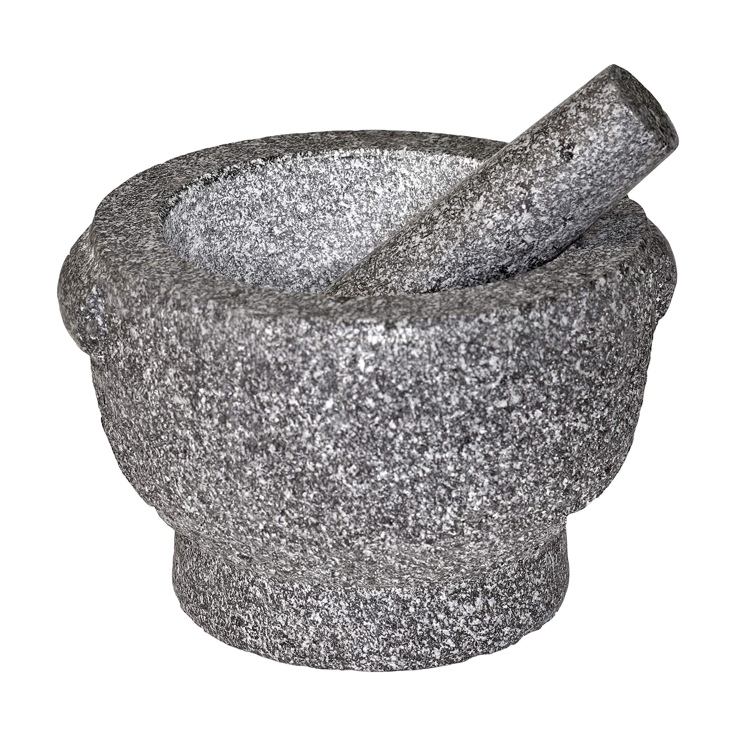 Frieling/Cilio Goliath Granite 5-Inch Tall Mortar and Pestle by Cilio