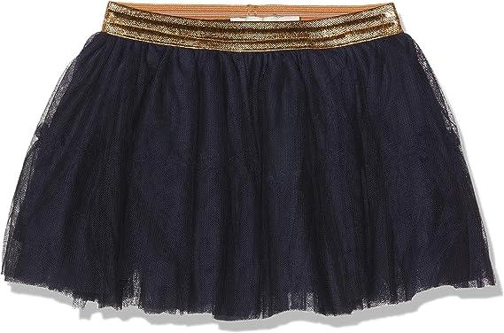 NAME IT Nmftullu Tulle Skirt Noos Falda, Azul (Dark Sapphire Dark ...