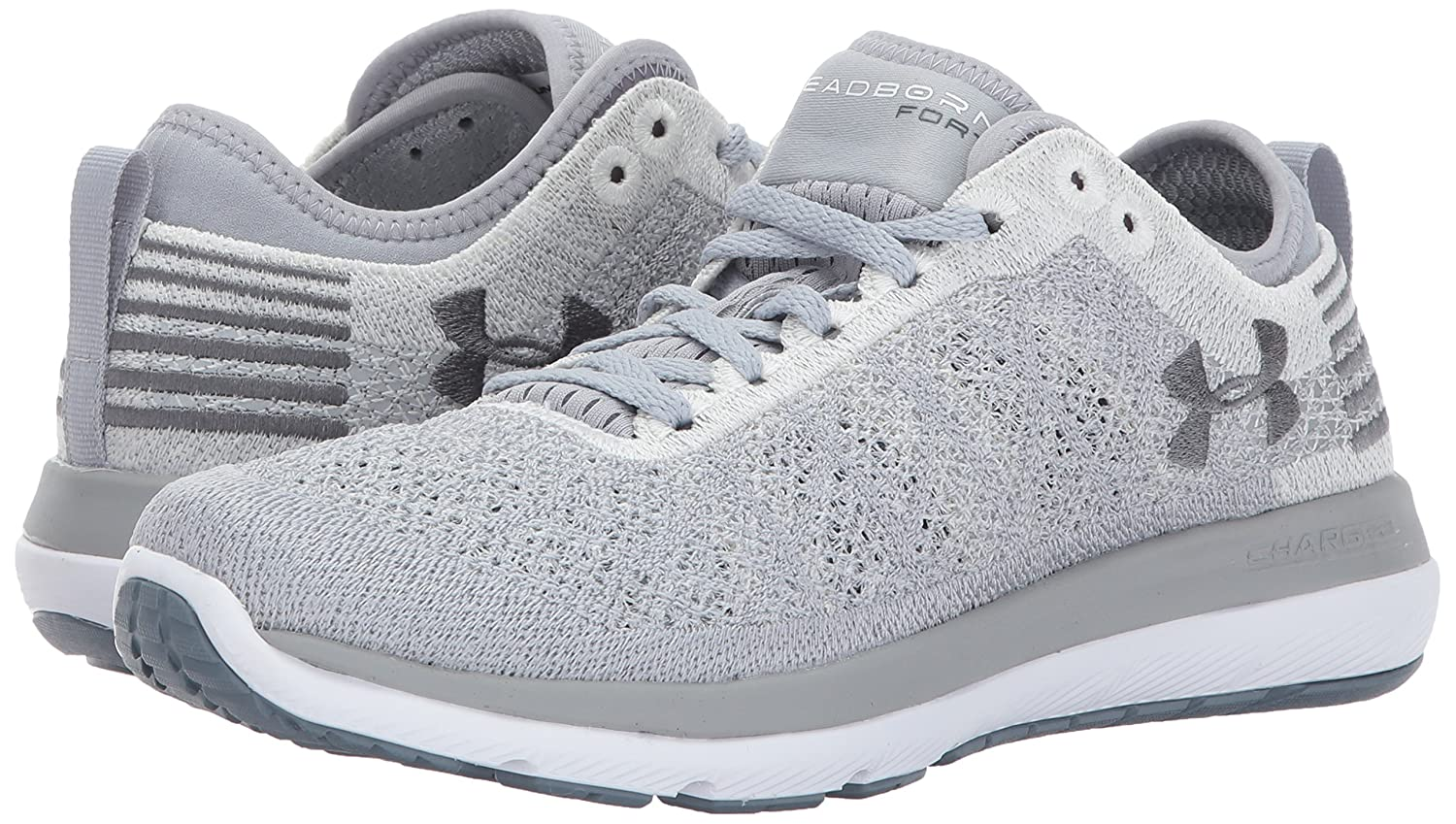 Under Armour Shoe Women's Threadborne Fortis Running Shoe Armour B01MXXIAW7 12 M US|Overcast Gray (103)/White d5ebc6