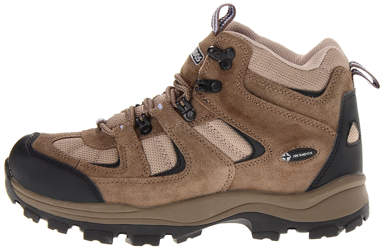 Nevados Women's Hiking Boomerang II Mid V1082W Hiking Women's Boot B00995P27S 7.5 W US|Dark Brown/Black/Light Purple 538549