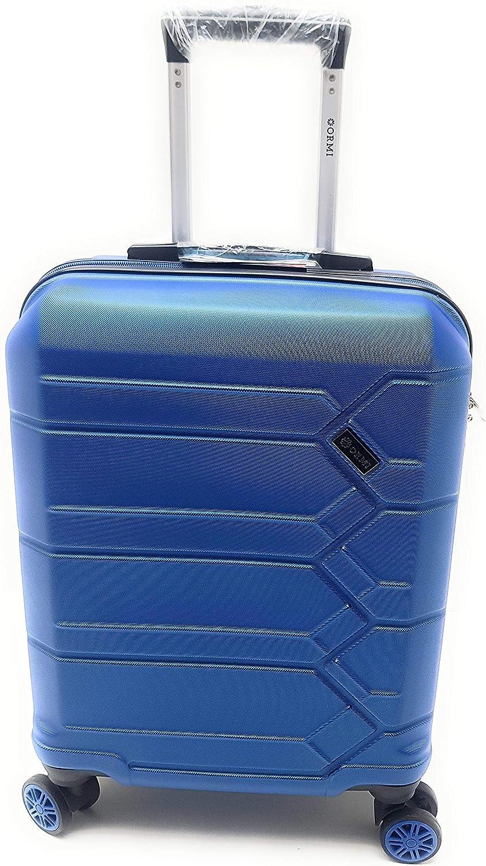 Trolley Ryanair Priority idóneo 55 x 40 x 20 cm ABS rígido 8 ruedas, azul claro (Azul) - 185