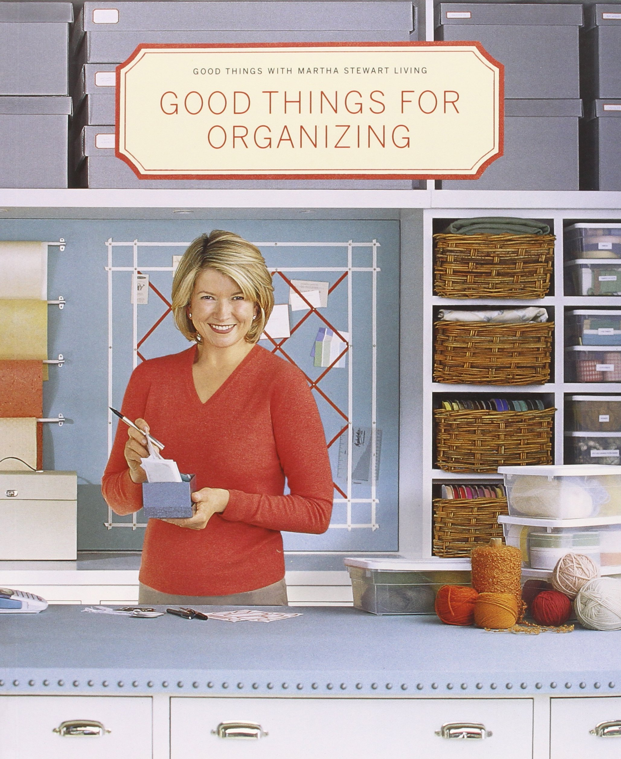 Good Things For Organizing (Good Things With Martha Stewart Living): Martha  Stewart Living Magazine: 9780609805947: Amazon.com: Books Part 97
