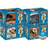 Kauai Coffee Single-Serve Pods, 100% Arabica Coffee from Hawaii's Largest Coffee Grower, Compatible with Keurig K-Cup Brewers