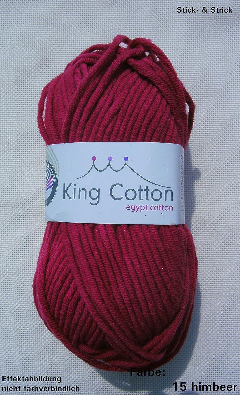 GRUNDL King Cotton knitting wool and yarn