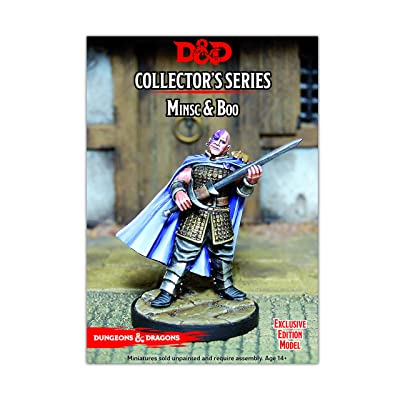 D&D Collector's Series Minsc and Boo: Toys & Games