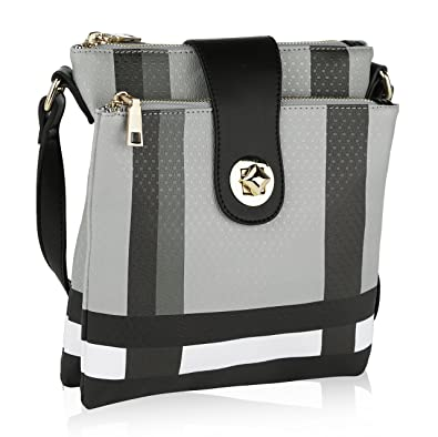 c8a92c67871 MKF Crossbody Bags for women - Adjustable Strap - Vegan Leather - Crossover  Side Messenger Womens Purse