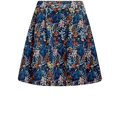 oodji Ultra Mujer Falda de Punto con Pliegues: Ropa y accesorios