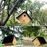 WildBird Care Wren House - Cedar Bird House Natural Wood BCH1A