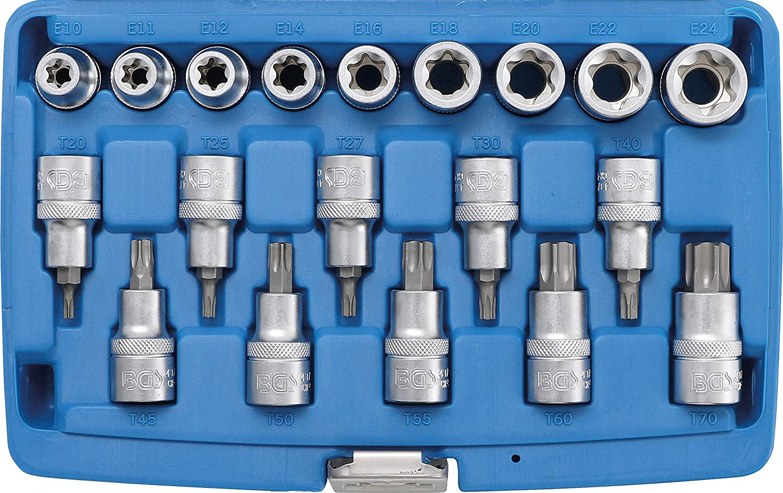 BGS 2237 Juego de extensiones | 450 // 600 // 750 mm 1//2 12,5 mm 3 piezas