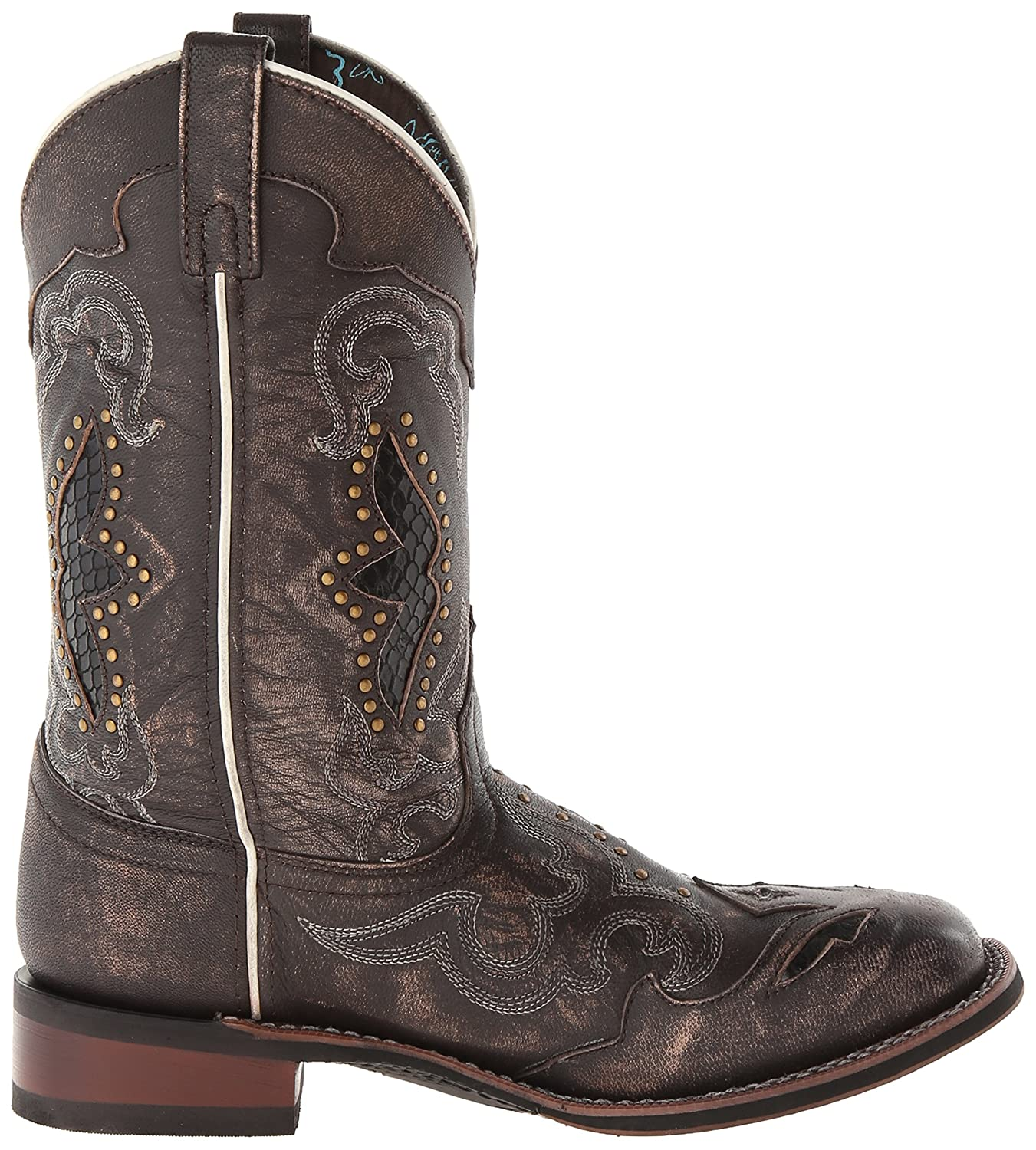 Laredo Women's Spellbound Western Boot B00ITCBCJY 8.5 B(M) US|Black/Tan