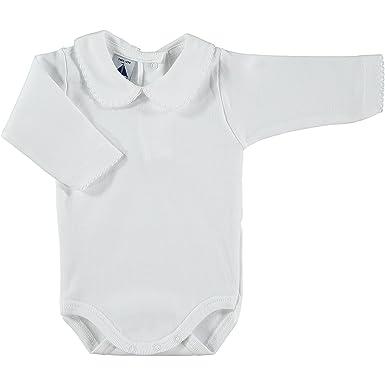 e2f9cd6ff BABIDU Baby-Unisex's Body Cuello Algodon Bodysuit: Amazon.co.uk: Clothing