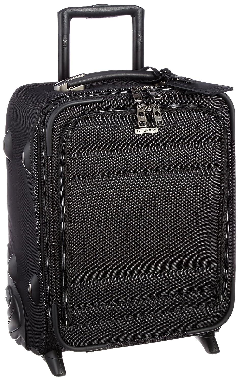 [バーマス] BERMAS スーツケース FUNCTION GEAR PLUS 縦型2輪キャリー 45cm 25L  ブラック B00YMMXKP4