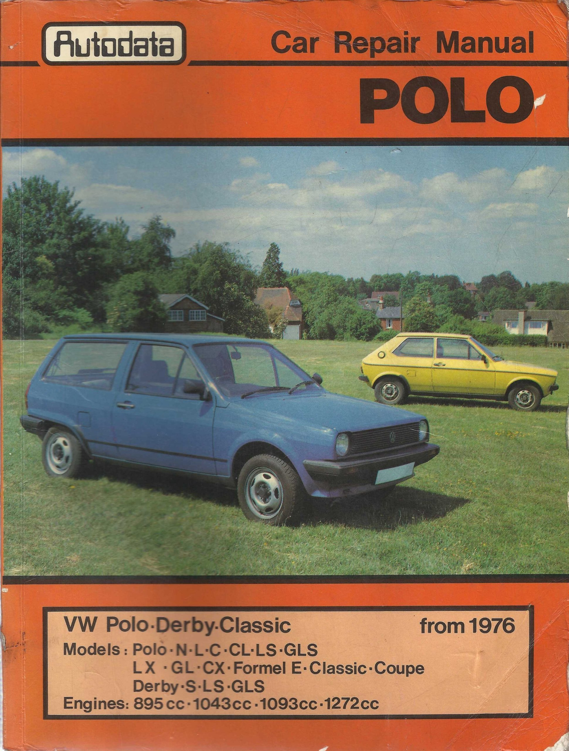 Volkswagen Polo, Derby, Classic from 1976 Workshop Manual: Amazon ...