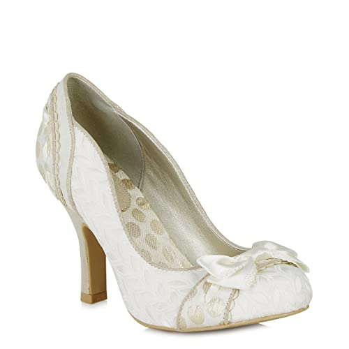 Ruby Shoo Amy (Cream) by Size 3/36