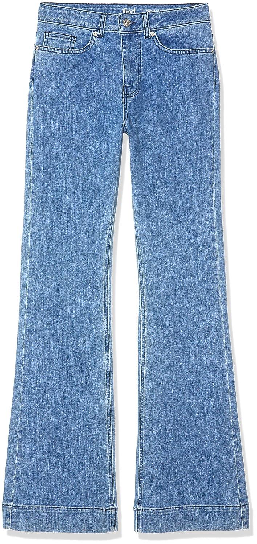 find Jeans a Zampa a Vita Alta Donna