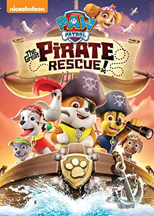 amazon co jp paw patrol the great pirate rescue dvd import