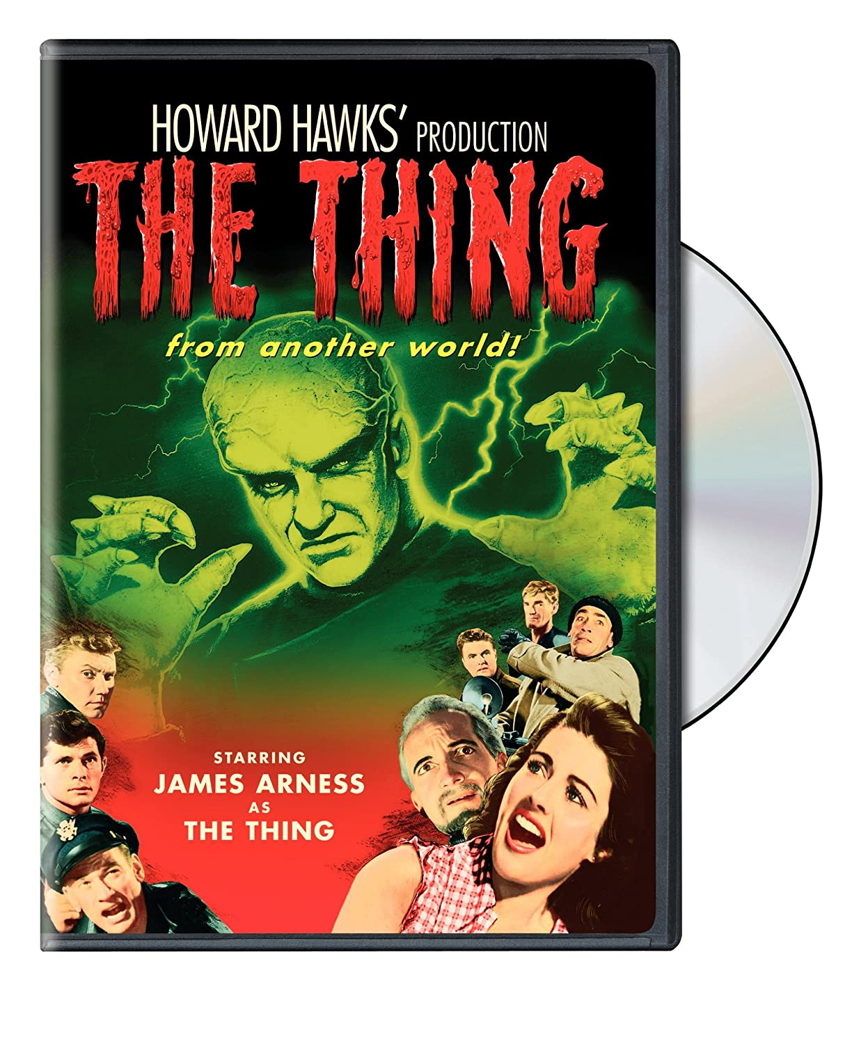 The Thing from Another World Christian Nyby Warner Bros. Home Video 2228602 Horror / Sci-Fi / Fantasy