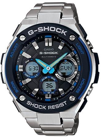 66147ed17615f Amazon.com  Casio G-Shock S-Steel Series 6 Multi Bands Solar Watch ...