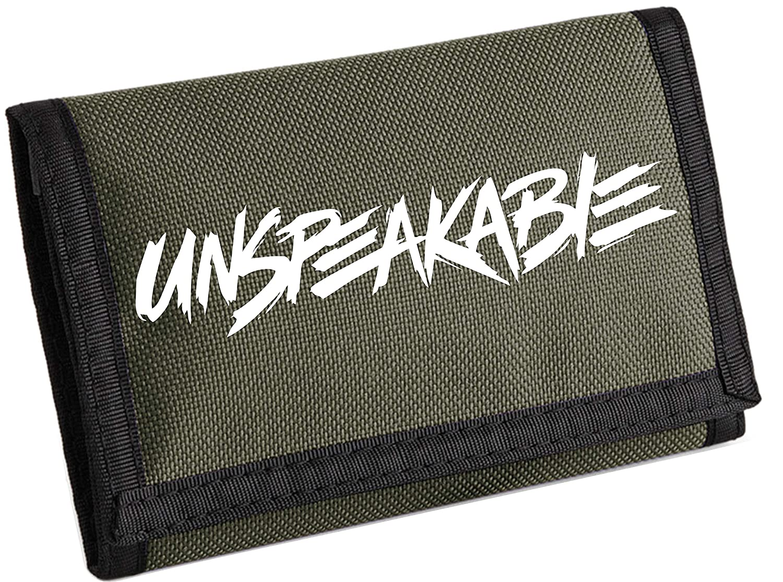 Black Unspeakable Ripper Wallet