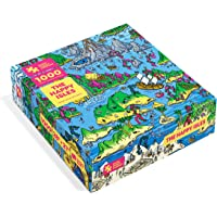 The Happy Isles - 1000-Piece Jigsaw Puzzle from The Magic Puzzle Company 1