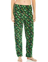 Leveret Women's Fleece Sleep Pants Patterns & Prints (Size XS-XL)
