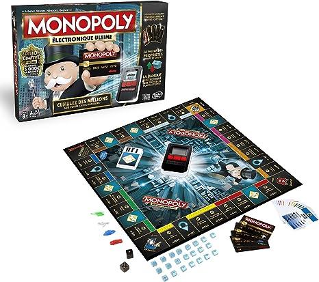 Monopoly Electronique Ultime - Juego de Mesa, versión Francesa: Amazon.es: Juguetes y juegos
