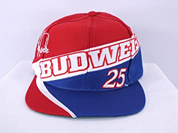 Ricky Craven Budweiser NASCAR Driver Adj. Gorra (d49-d52)  Amazon.es   Deportes y aire libre 560f41469ab