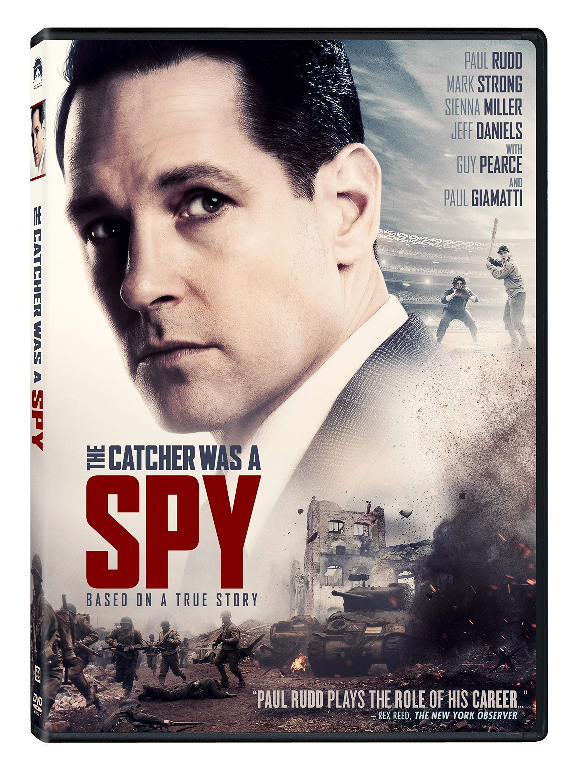 Book Cover: The Catcher Was a Spy