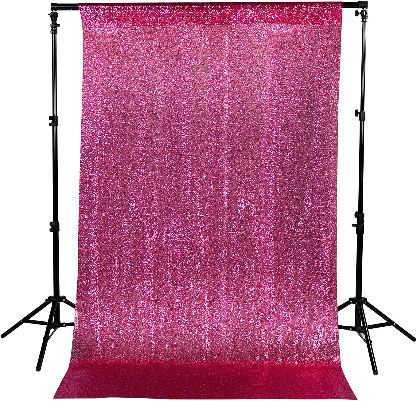Sequin Backdrop Photography Background Curtain for Party Decoration