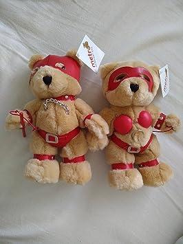 Bondage teddy bear ornament are