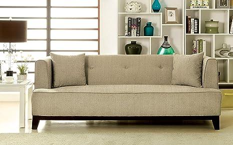 Amazon.com: Muebles de América Elsa neo-retro sofá: Kitchen ...