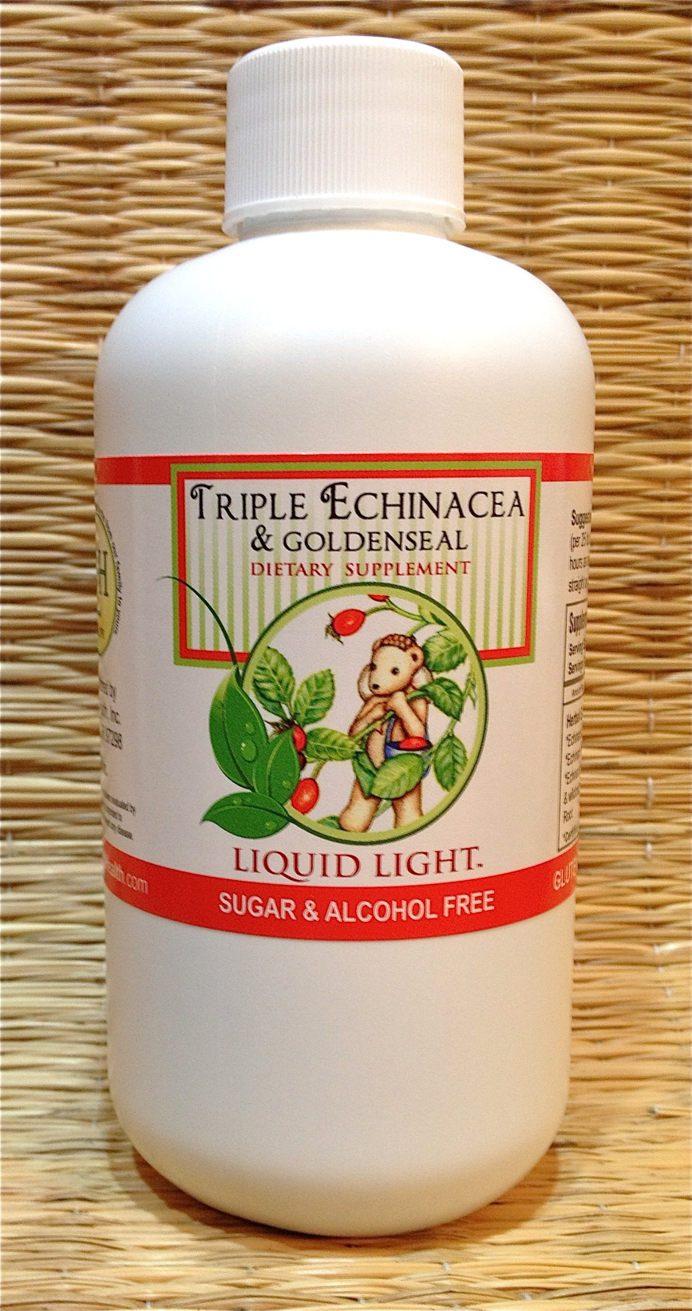 Triple Echinacea & Goldenseal (8 oz Bottle) - Immune, Ear Infections, Respiratory Support. Child Safe. Used Safely and Effectively for Over 20 Years.