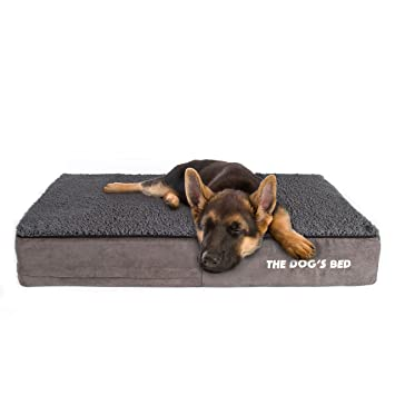 Amazon Com The Dog S Bed Premium Plush Orthopedic Waterproof