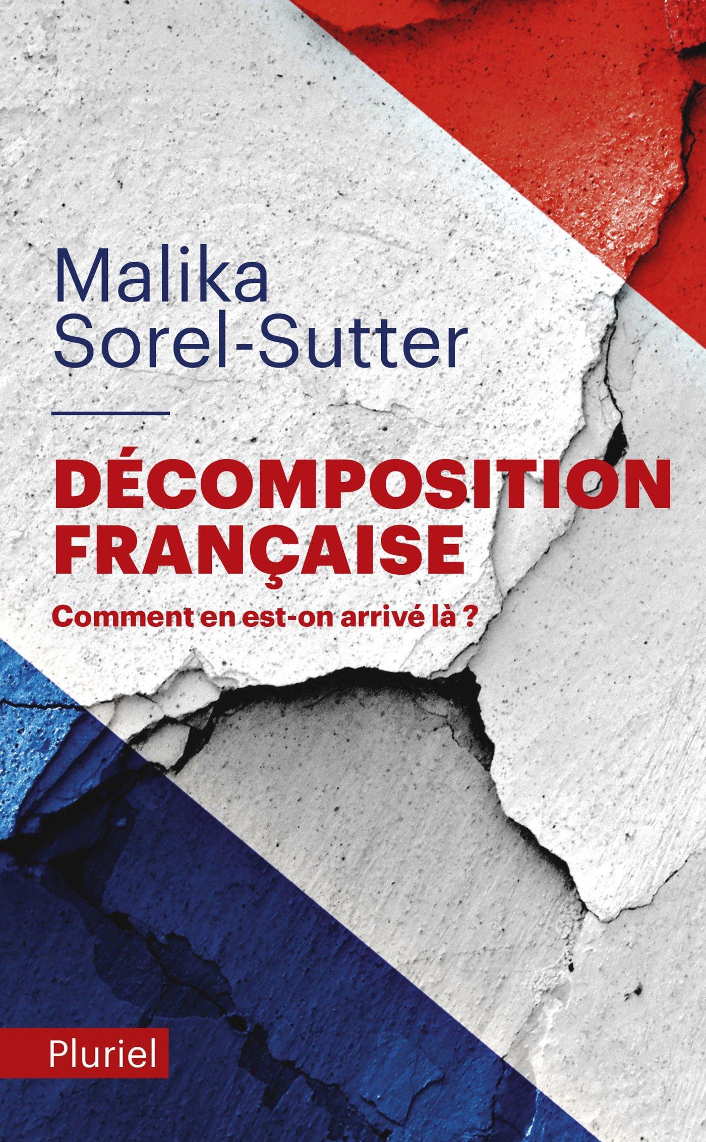 Décomposition française Poche – 8 février 2017 Malika Sorel-Sutter Fayard/Pluriel 2818505275 Actualités