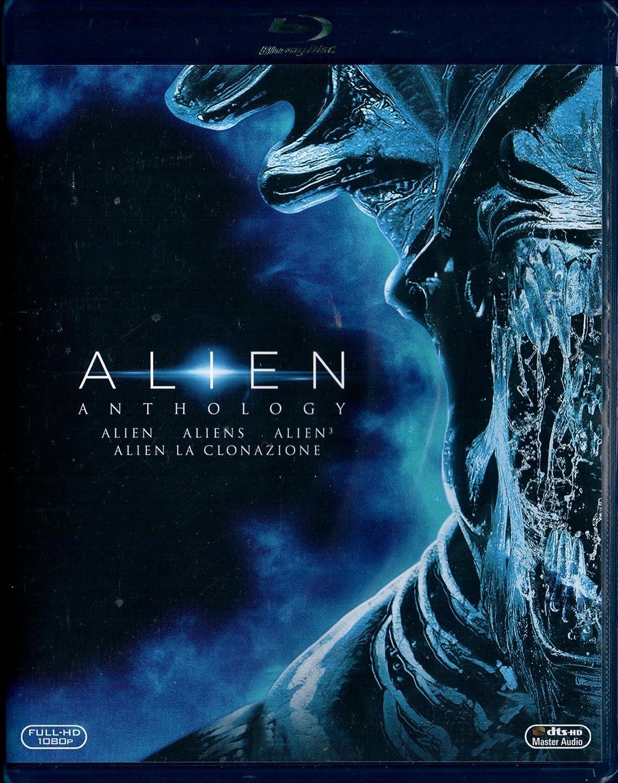 Alien Anthology (4 Blu-Ray) [Italia] [Blu-ray]: Amazon.es: Michael Biehn, Charles Dance, Gary Dourdan, Brad Dourif, Charles S. Dutton, John Frizzell, Brian Glover, Elliot Goldenthal, Jerry Goldsmith, Dan Hedaya, Lance Henriksen, Ian Holm,
