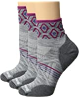 Smartwool Womens PhD Outdoor Light Mini Pattern 3-Pack
