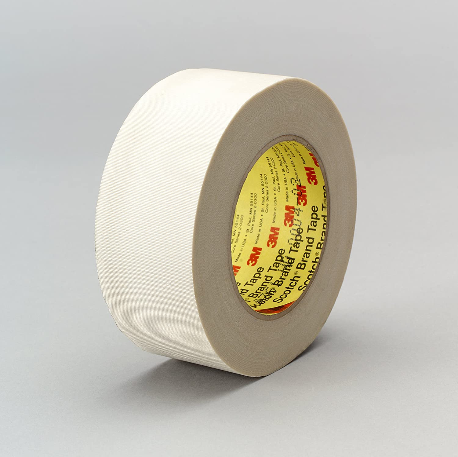 361 2 in x 360 yd 7.5 mil Glass Cloth 3M 17746 Glass Cloth Tape White
