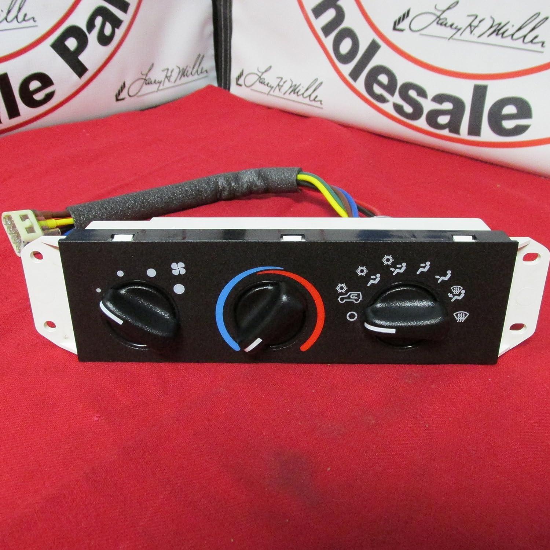 1994-2004 Jeep Wrangler A/c Ac Heater Heat Control Head Unit Switch Mopar Oem 55037473AB.1